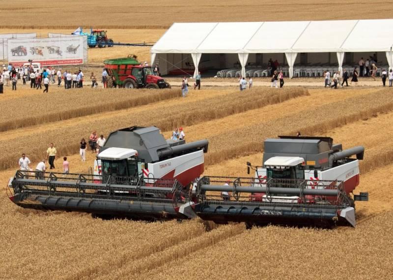 В Германии отмечают резкий подъём сельского хозяйства России