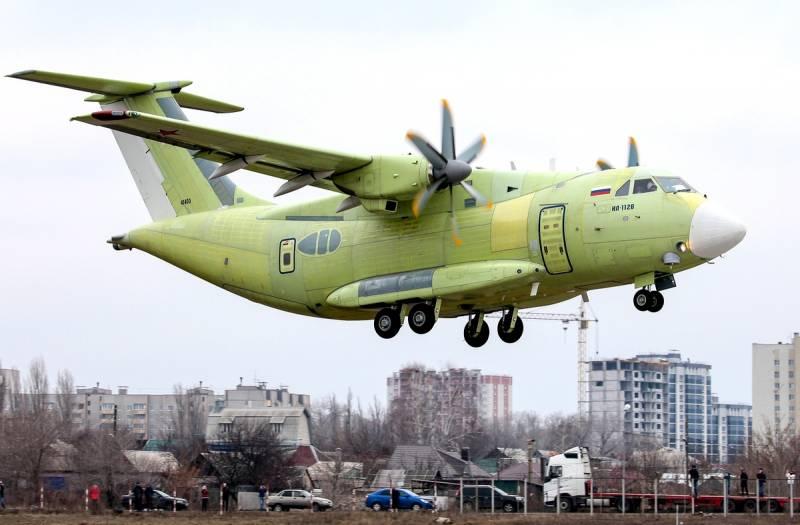 Лётные испытания самолёта Ил-112В