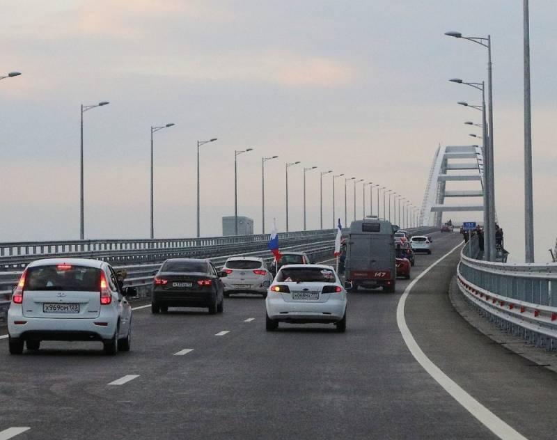 Водитель очень хотел попасть в Крым и промчался по мосту со скоростью 243 километра в час