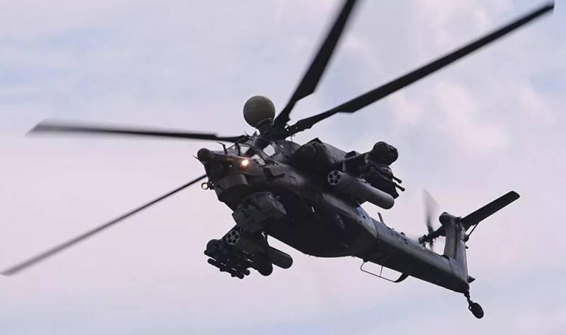 Лучшие пилоты ВСК устроили мастер-класс экипажам ударных вертолетов Ми-28