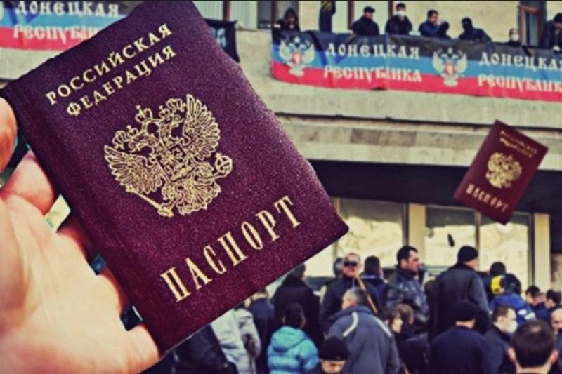Пушилин: Сегодня особенный день 34 гражданина стали частью великой и могущественной страны — России