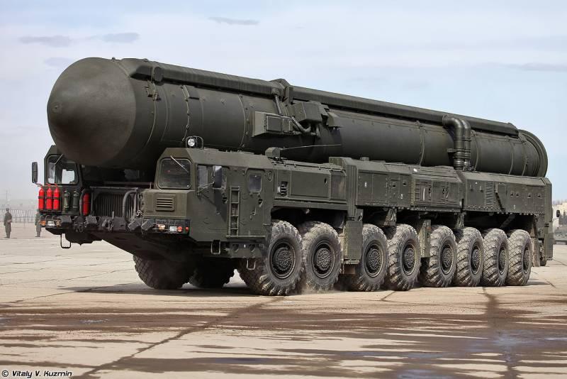 """В России начались учения стратегических ядерных сил """"Гром-2019"""""""