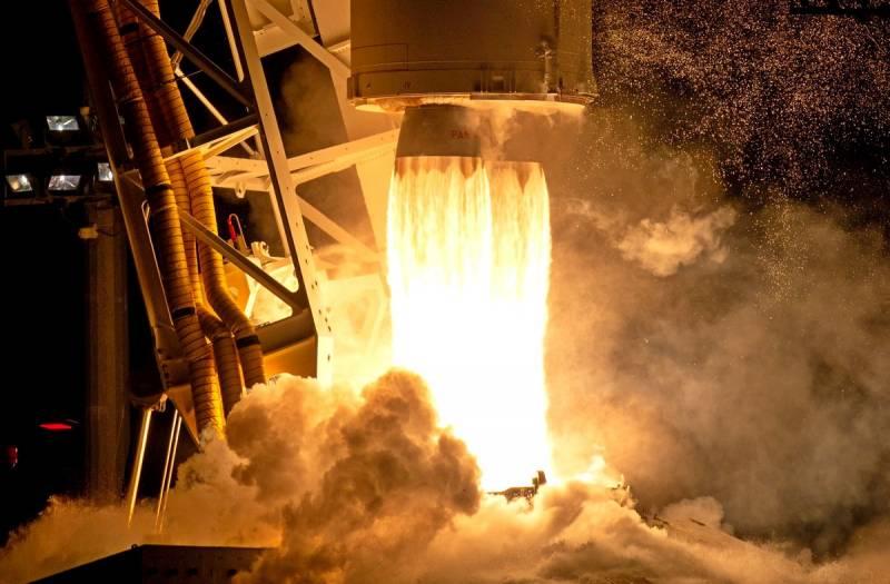 Взлёт ракеты