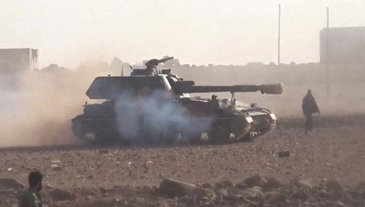 САА уничтожила крупную группировку боевиков на севере Хамы