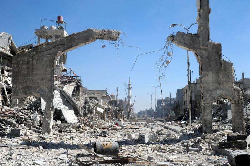 В Сирии, в результате миномётного обстрела, погибли 4 сотрудника ФСБ