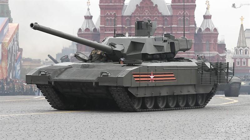 "Завершились работы по модернизации пушки танка Т-14 ""Армата"""