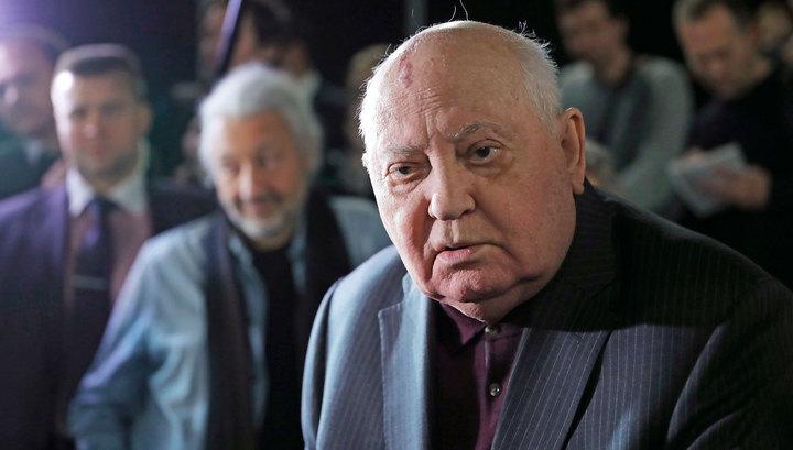Горбачёв недоволен американской политикой