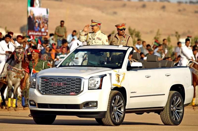 Хафтар отклонил перемирие в Ливии