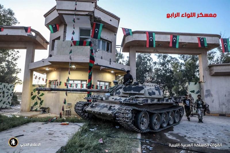 Турецкие войска на ливийских фронтах