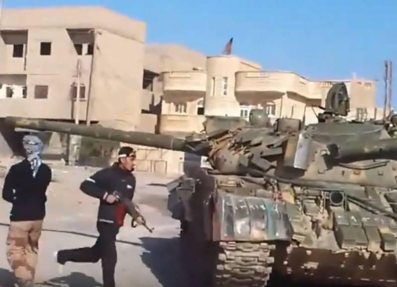 Армия Асада потеряла два населённых пункта в провинции Идлиб