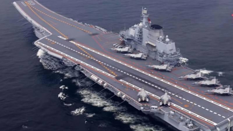 "Китайский авианосец ""Тип-001А"""