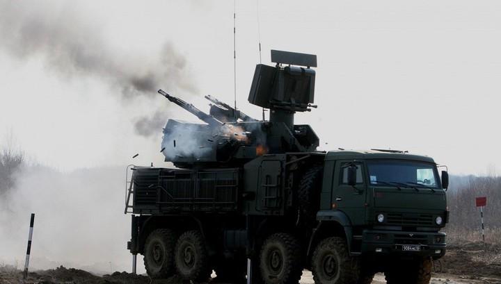 Сирийская ПВО уничожила ударный беспилотник над Дамаском