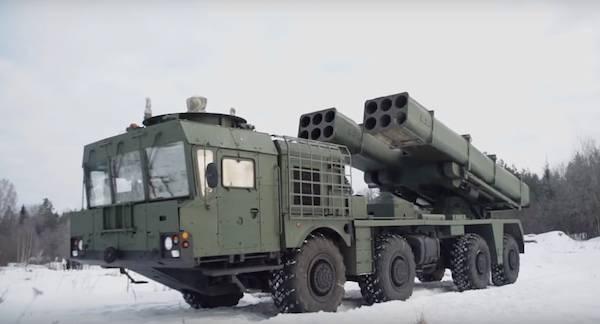 В российскую армию поступили ракетные системы залпового огня нового поколения«Торнадо-С»