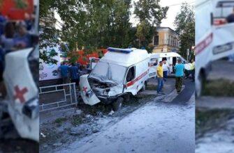 Фельдшер погибла в загоревшейся после ДТП скорой в Моршанске