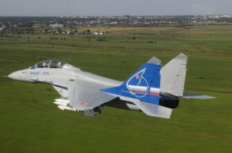 Истребитель МиГ-35 добрался до армии