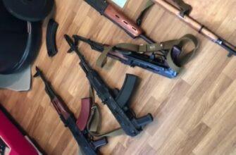 В Новом Уренгое задержаны контрабандисты с оружием из Украины и Литвы