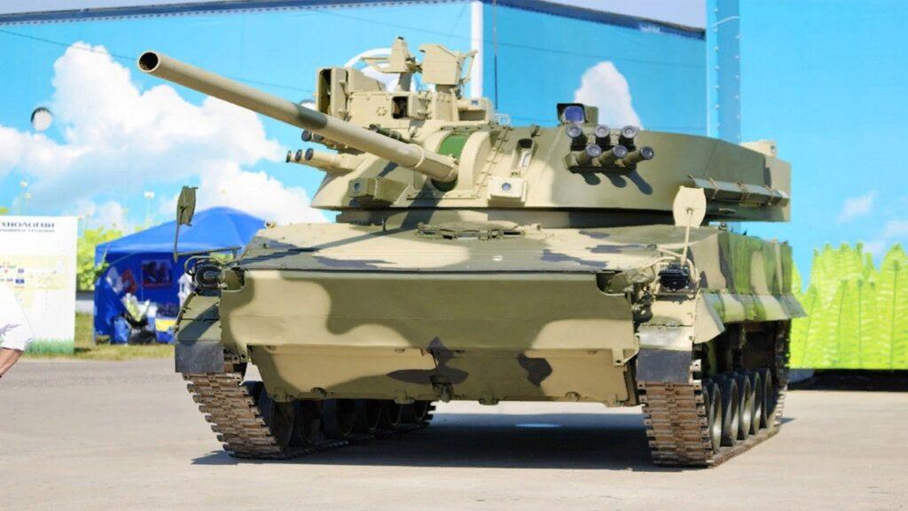 САУ 2С42 «Лотос» для ВДВ и морской пехоты