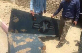 Иранские рыбаки выловили фрагмент сбитого RQ-4А Global Hawk