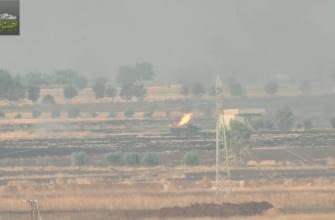 Боевики уничтожили зенитную пушку и грузовик с боеприпасами САА (видео)