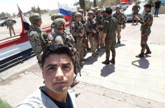 Российские военные разведчики в Северной Хаме