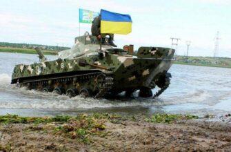 БМД с тремя украинскими десантниками утонула на учениях ВСУ