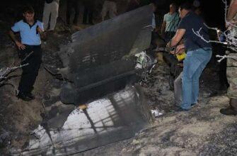 После налета ВВС Израиля на Сирию на Кипре рухнул неизвестный летательный аппарат