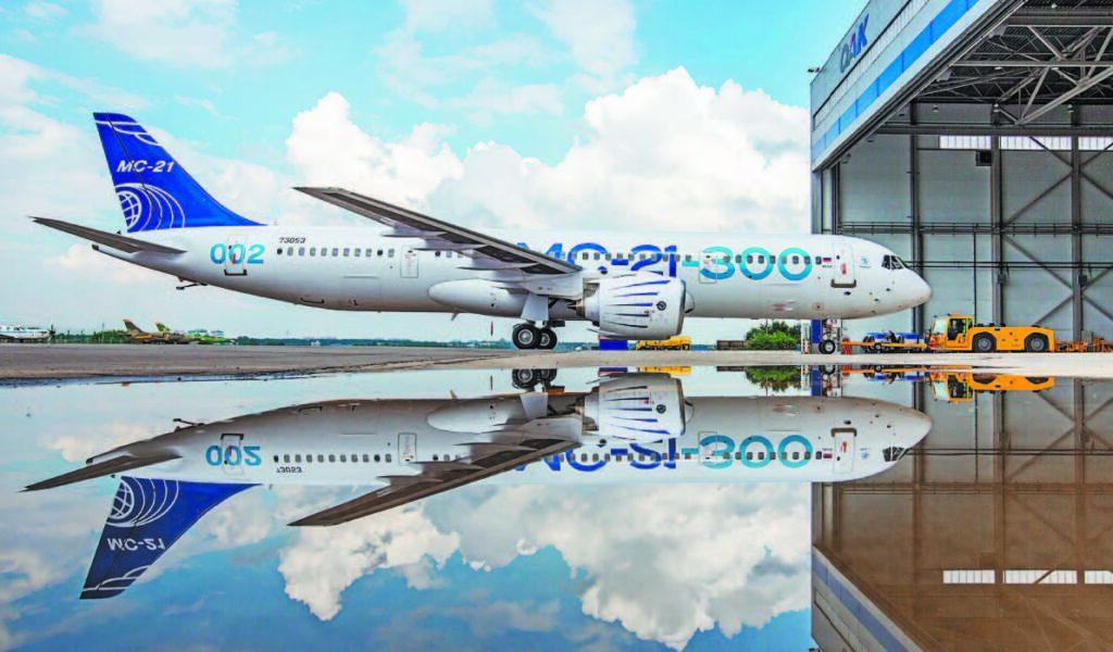 В России планируют выпускать до 120 самолетов МС-21 в год