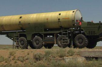 Минобороны публикует видео успешного пуска новой противоракеты