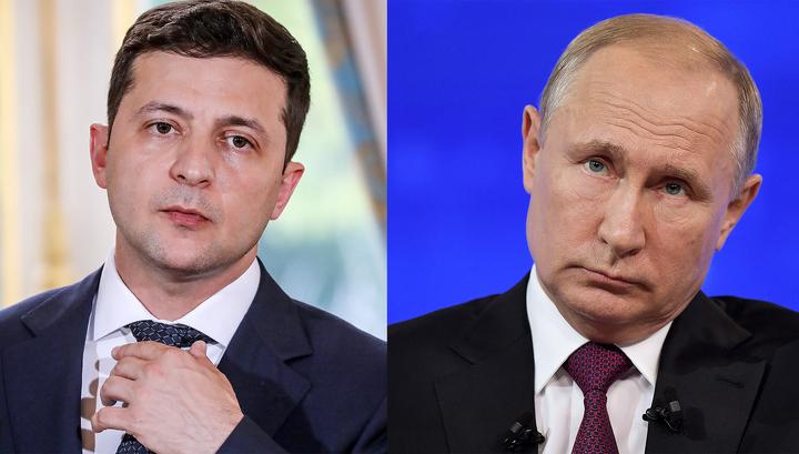 Зеленский позвонил Путину по телефону
