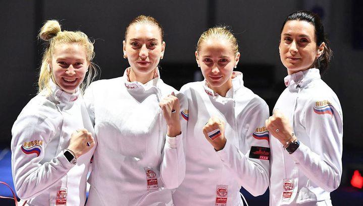 Сборная России завоевала больше всех медалей на чемпионате мира по фехтованию