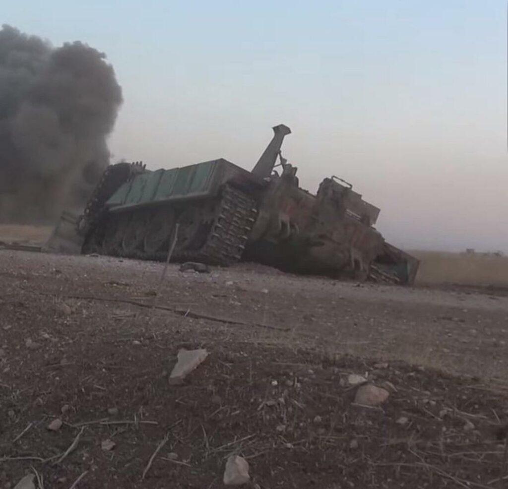 Обработка позиций боевиков ВКС РФ в Идлибе