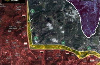 Сводки из Сирии. Наступление боевиков в Латакии