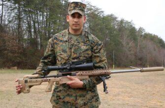 Новая снайперская винтовка Mk13 Mod 7 Long Range Sniper Rifle. Для американских морпехов