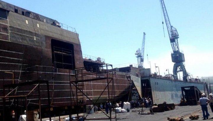 В Приморье готовят спуску на воду самое большое судно за последние 30 лет