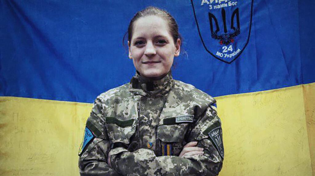 Нацистка и воровка на доверии Юлия Толопа – теперь официальная украинка