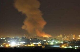 Сводки из Сирии. Удары Израиля в районе Дамаска. 01.07.2019