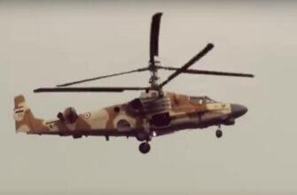 «Нильский крокодил» Ка-52 ВВС Египта, фото из кабины