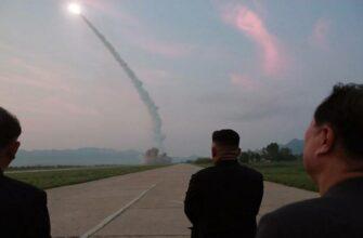 Ким Чен Ын лично руководил новыми испытаниями баллистических ракет