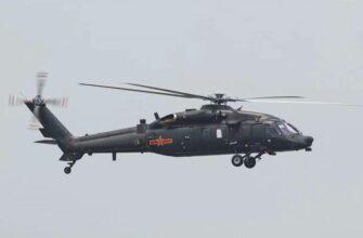 В нашем обзоре китайский многоцелевой вертолет Harbin Z-20