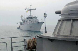 Российский адмирал Игорь Касатонов прокомментировал вхождение украинского корабля в зону учений ЧФ РФ