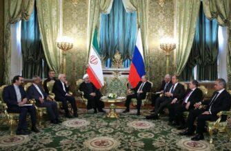 Россия ведет с Ираном переговоры по поводу создания военно-морских баз в Персидском заливе