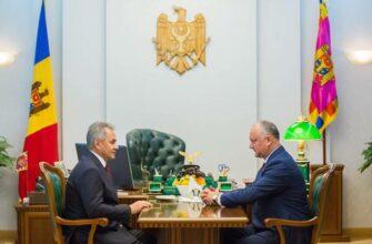 Шойгу прибыл в Кишинёв на празднование юбилея освобождения Молдавии