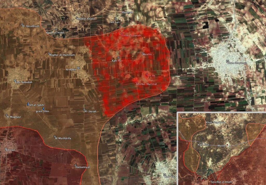 Сводки из Сирии. Наступление в Северной Хаме. 13.08.09