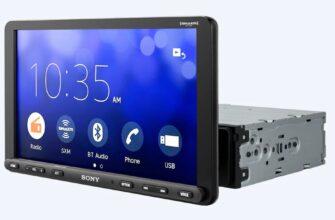 Sony выпустила головное устройство с 9-дюймовым тачскрином для старых машин