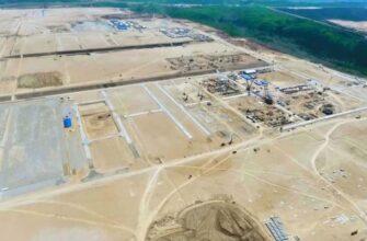 В Амурской области строится самый большой завод России