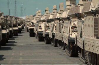 На границу с Россией США перебрасывают тысячи единиц военной техники