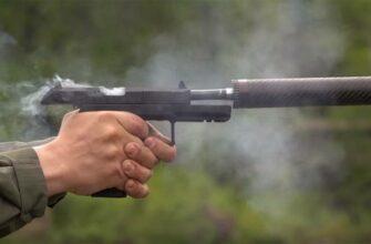 """Возможности нового пистолета """"Удав"""""""