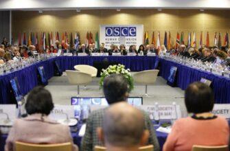 Украинская делегация попыталась сорвать заседании ОБСЕ