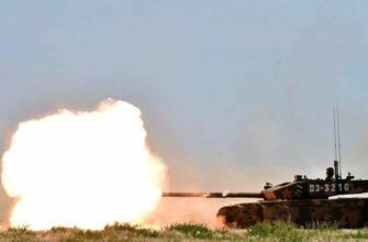 Китайский бронебойный снаряд танка Type 99A способен пробивать броню Т-90МС