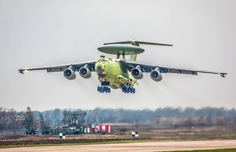 В России построят второй серийный самолет ДРЛО А-100 «Премьер»
